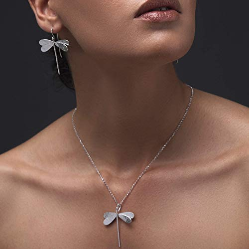 a435f8844632 Conjunto de joyas de libélula