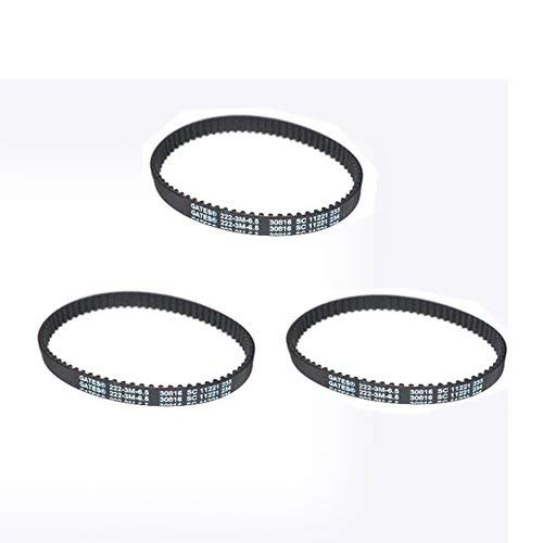 1551 Series Vacuum Cleaner Revolution 3pk-Geared Belts 1550 TVP OEM 1548 Pro Heat