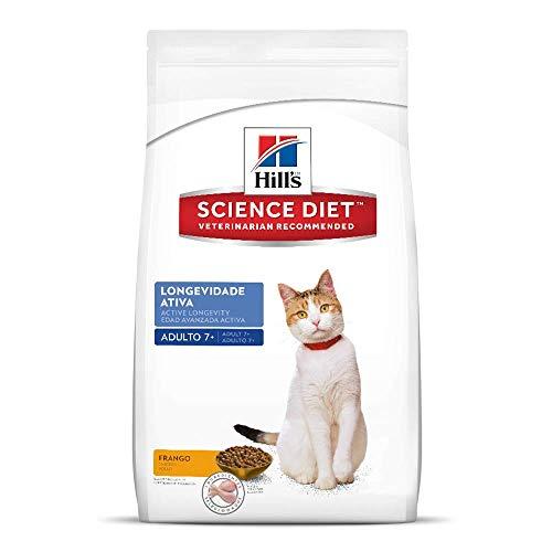 Ração Hill's Science Diet para Gatos 7+ Adultos - 3kg