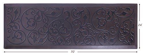 AMCOMFY Kitchen Anti Fatigue Mat,Comfort Floor Mats,Standing Mats,Antique Series (24