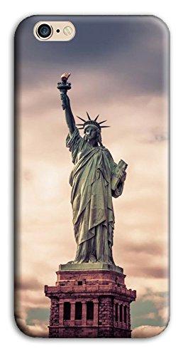 Mixroom - Cover Custodia Case In TPU Silicone Morbida Per Apple Iphone SE M3524 Statua Della Liberta Usa