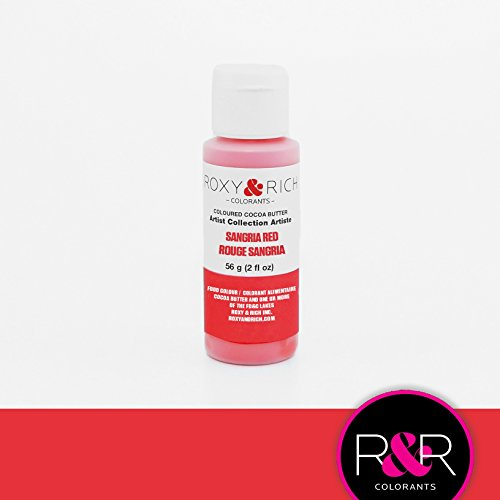 Red Cocoa (Cocoa Butter, Sangria Red 2 Ounces by Roxy & Rich)