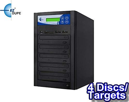 EZ DUPE Multi Media Mirror CD/DVD/Blu-Ray/SD/CF/MS/MMC/USB Duplicator (4 Discs/Targets) (CD/DVD)