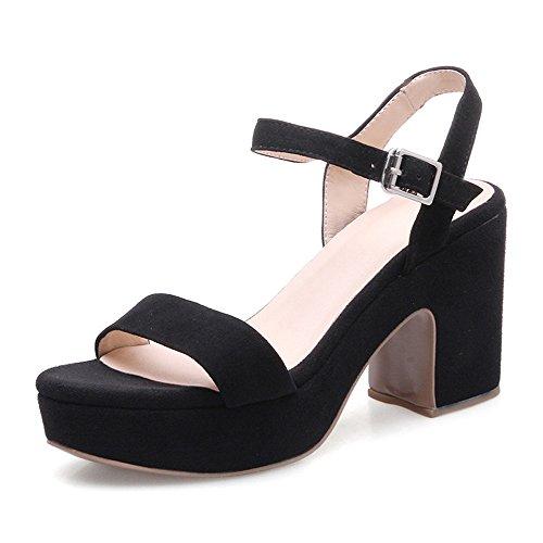 A De Con Verano Sandalias Y Corbata Mujer Xzgc Zapatos Negro 1T4xw5q4Rz