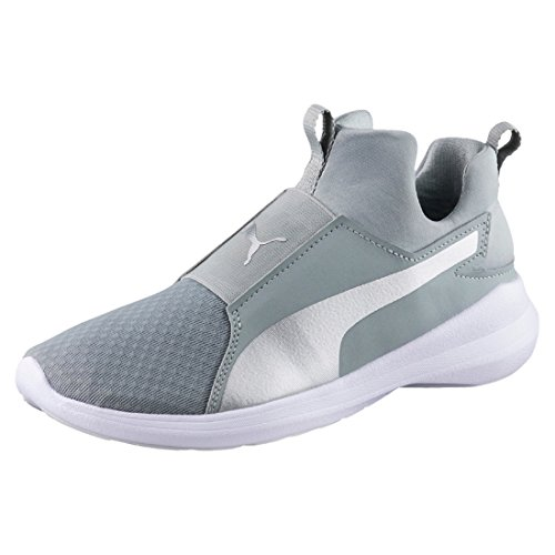 Gris Puma silver Mujer Zapatillas Rebel Mid Quarry vPZPFH