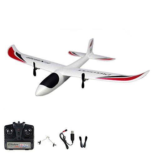 2.4GHz RC ferngesteuertes mini Segelflugzeug Glider, Segler, Flieger Inkl. Fernsteuerung und viel Zubehör - Ready-To-Fly - Top-Design