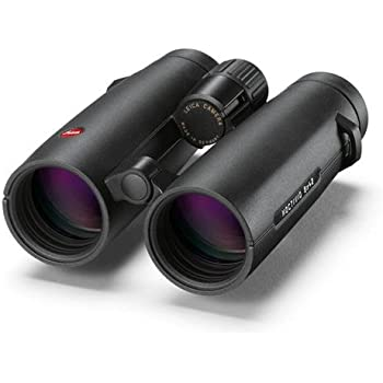 Leica 8x42 Noctivid Water Proof Roof Prism Binocular with 7.7 Degree Angle of View, Black