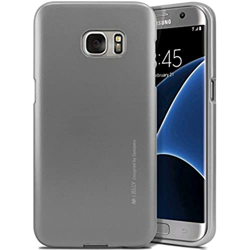 S7 EDGE Case, [Low Profile] for Samsung Galaxy S7 EDGE, [Metallic Finish] MERCURY i-Jelly Case, TPU Case [Drop Sales