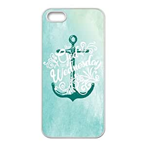 Anchor Map iPhone 4 4s Cell Phone Case White SUJ8455414