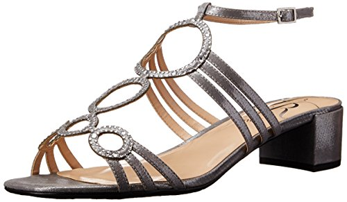 Women's Dress Glimmer Renee Terri Silver Sandal J wT5qxP8P