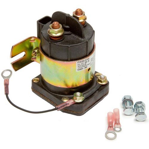 Painless 40112 Solenoid Kit (Painless Dual Battery)