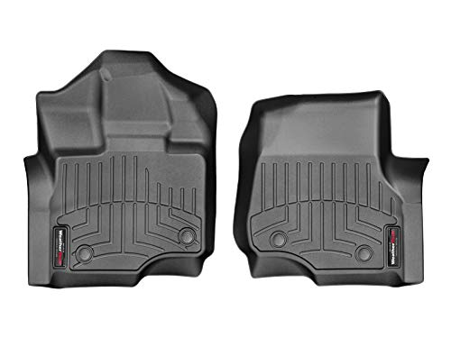 WeatherTech FloorLiner Front Mats Only (1st Row Driver/Passenger) - 446971 - Black from WeatherTech
