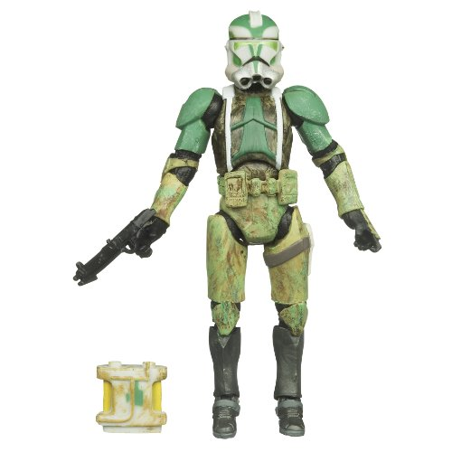 - Star Wars 3.75 Vintage Figure Commander Gree