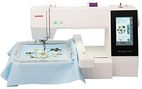 Janome Memory Craft 500E Embroidery Machine (Renewed)
