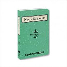 Reina Valra 1960 Nuevo Testamento Impermeable (Spanish Edition)