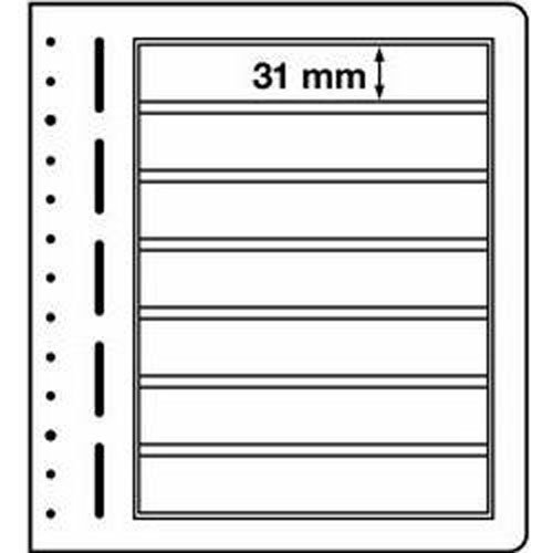 LIGHTHOUSE LB-Blank sheets, 7-way division, 190x 31 mm Leuchtturm