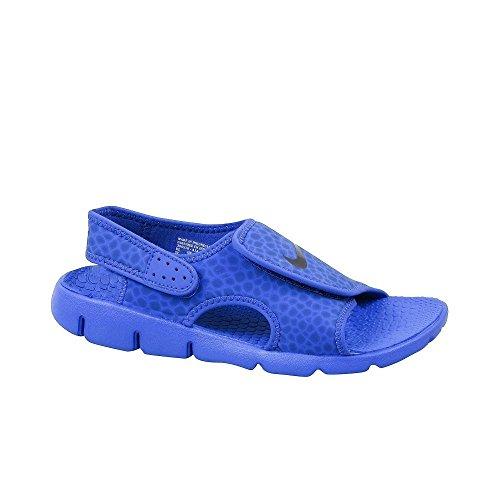 NIKE Boys' Sunray Adjust 4 Sandals Game Royal/Obsidian 6Y