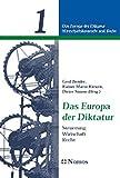img - for Das Europa Der Diktatur: Steuerung - Wirtschaft - Recht (German Edition) book / textbook / text book