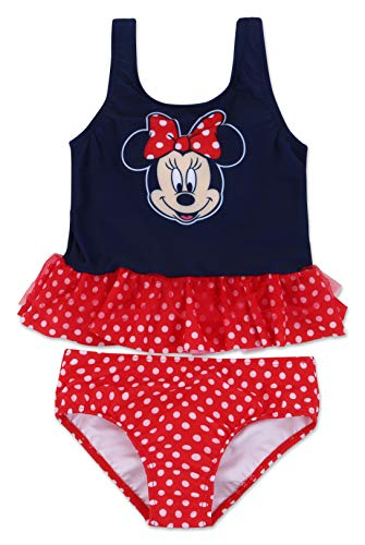 Toddler Girl Minnie Mouse Two Piece Swimsuit 3T