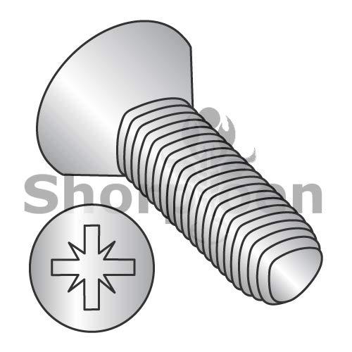 SHORPIOEN Din7500M Metric Type Z Flat Thread Roll Screw Full THD 18 8 Stain Steel PassWax M4-0.7 x 12 BC-M412RZF188 (Box of 3000)