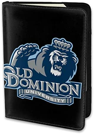 Old Dominion University パスポートケース メンズ 男女兼用 パスポートカバー パスポート用カバー パスポートバッグ 小型 携帯便利 シンプル ポーチ 5.5インチ高級PUレザー 家族 国内海外旅行用品
