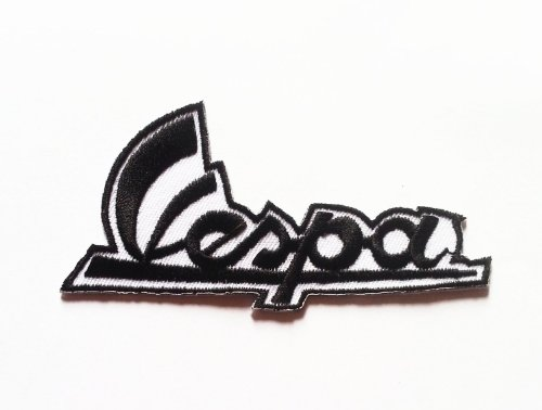 vespa-logo-embroidered-iron-patch-t-shirt-sew-product-of-thailand-black-colour