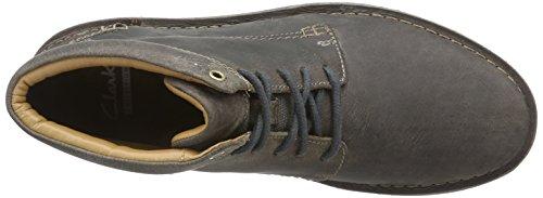 Remsen Stivali grey Leather Clarks Grigio Hi Uomo 8HnqxW4Z