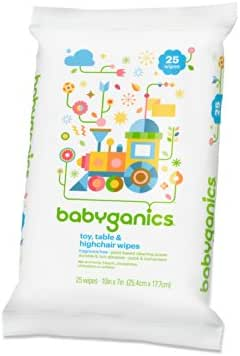 Multi-Surface Wipes: Babyganics Toy & Highchair Wipes