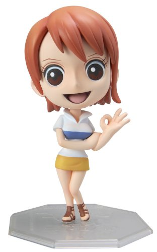 One Piece: Excellent Model Portrait of Pirates Chibi Nami PVC Figure 1/8 Scale by One Piece