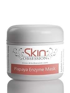 Papaya enzyme face mask