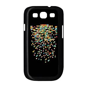 Samsung Galaxy S3 9300 Cell Phone Case Black Fractured Unifications Cecu