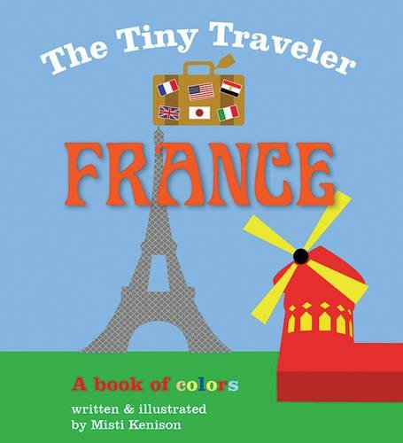 Tiny Traveler France Book Colors product image
