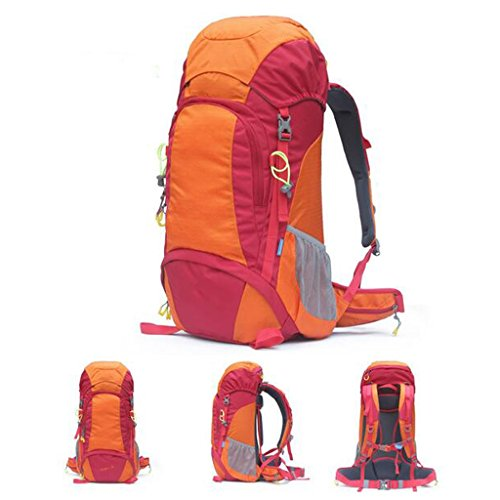 AMOS Mountaineering bolsa de gran capacidad hombro hombres y mujeres de viaje mochila camping al aire libre equipo 50L transpirable camping bolsa