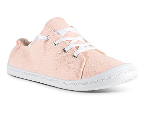 Canvas Womens Andrea Slip On Sneakers Twisted Blush qwI1dq