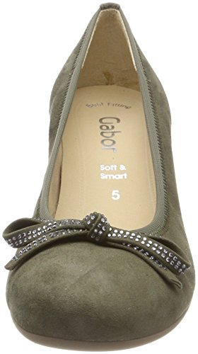 Gabor Women's Basic Closed-Toe Pumps Green (Oliv) get to buy cheap online limited edition cheap price clearance pay with paypal fashionable cheap online vYMK9pCo32