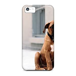Iphone 5c Covers Cases - Eco-friendly Packaging(a Boerboel Waiting)