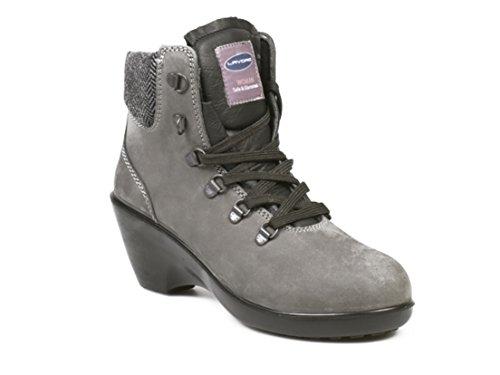 Lavoro Geena - S3 Damen Sicherheitsschuhe 39 Grau/Schwarz Grau/Schwarz