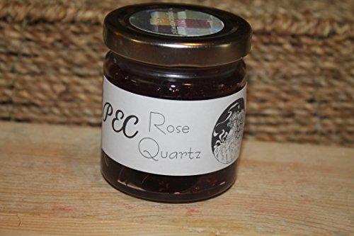 Small Rose Quartz Gel Jar Candle (Garden Candle Gel Rose)