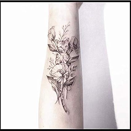 ruofengpuzi Etiqueta engomada del tatuaje Tatuaje Pintado A Mano ...