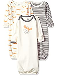 Touched by Nature unisex-baby Baby Organic Cotton Gown