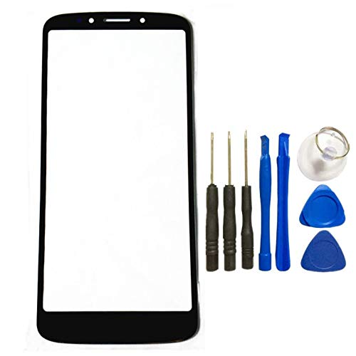 - For Motorola Moto E5 Front Glass Touch Screen LCD Outer Panel Lens Replacement Part with Open Tools for Moto E5 (Not LCD &Not Digitizer &Not Screen Protector)