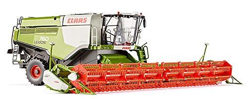 WIKING 7824 - Claas Lexion 760TT Mähdrescher mit V 1200 Getreidevorsatz, Fahrzeuge
