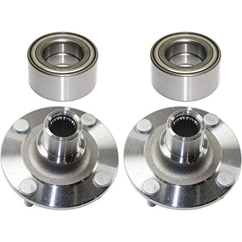 - Wheel Hub Kit for Nissan Sentra 00-06 Front Right and Left With Wheel Bearing