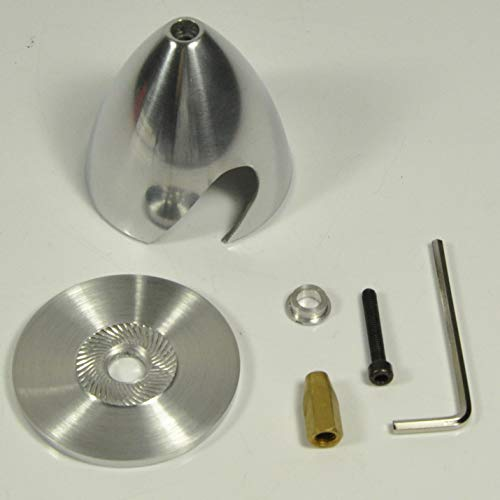 FidgetGear 101.6mm/4inch Aluminum Spinner Special Drilled for RC Plane from FidgetGear