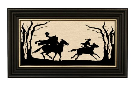 Madison Headless Horseman Halloween Decorations Handmade Silhouette 7