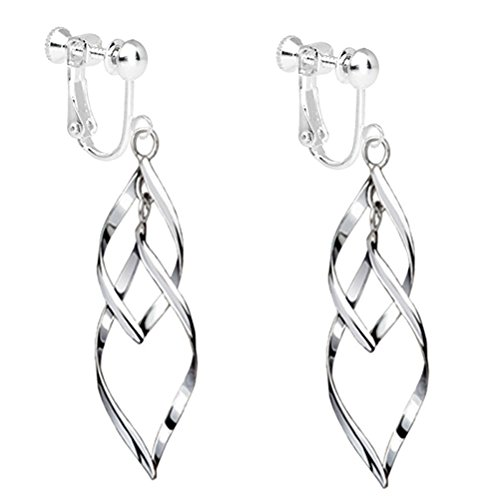 Fashion Womens White Gold Plat