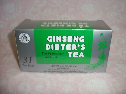 3 BOX KING OF GINSENG DIETERS TEA 93 TEABAGS by KING