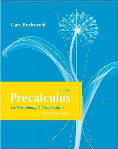 Ilmainen uusi eBook-lataus Precalculus with Modeling and Visualization (4th Edition) PDF ePub