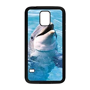 Dolphin Brand New Cover Case for SamSung Galaxy S5 I9600,diy case cover ygtg518472