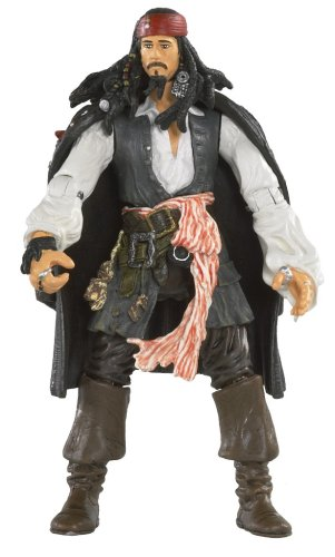 Pirates Of The Carribean 3: Captain Jack Sparrow with Rifle and Removable - Pirate Rifle